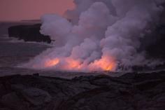Kalapana Lava Flow, Hawaii 2017